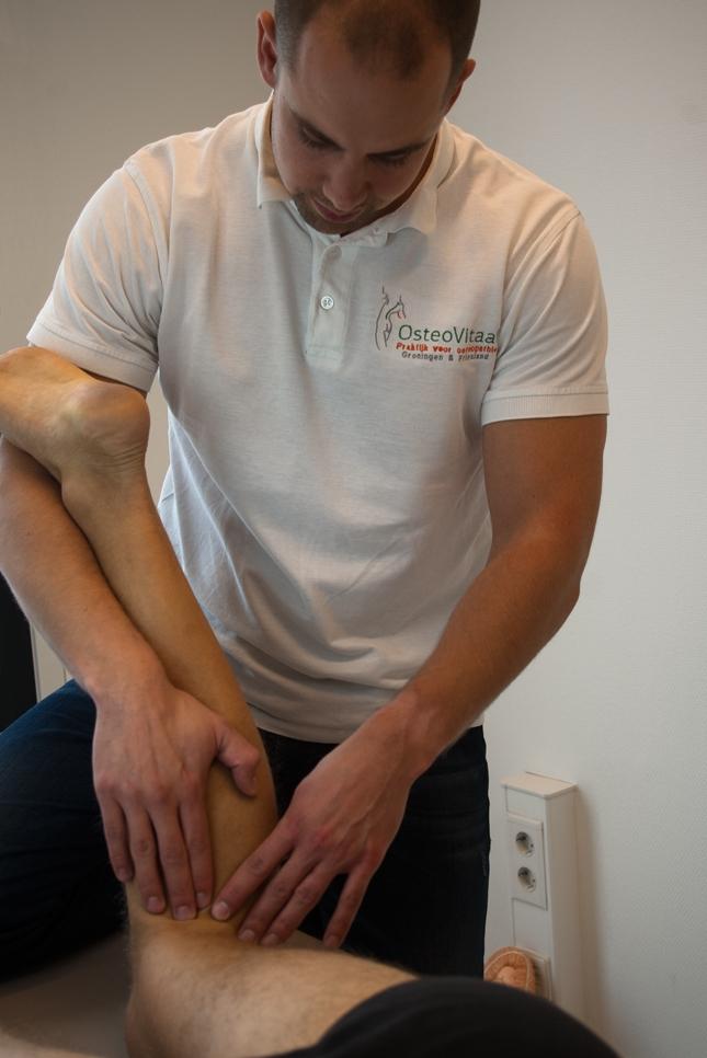 Osteopathie bij pijn aan de knie