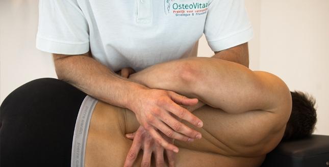Osteopathie bij pijn in de onderrug