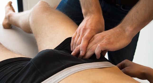 Osteopathie bij pijn in de lies